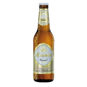 tercio cerveza alhambra